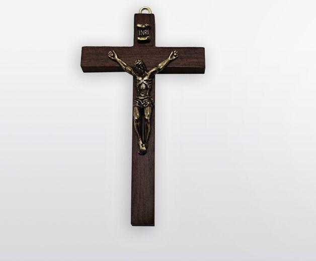 Croix religieuse murale Jésus Christ