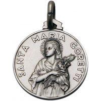 Médaille Maria Goretti dite Marietta argent 18mm