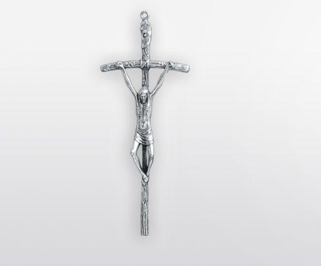 Crucifix 13,5cm de Jean-Paul II