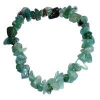 Bracelet pierres d'Aventurine - Minéral vert émeraude