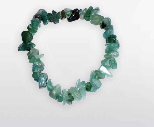 Bracelet pierre d'Aventurine - Minéral vert émeraude