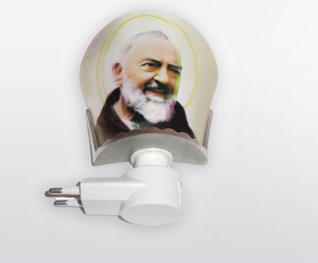Lampe / Veilleuse - Saint Padre Pio - 220V standard