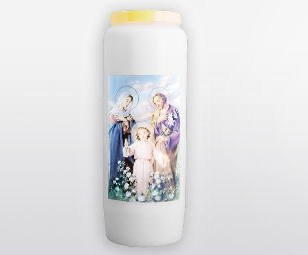 Bougie neuvaine à la Sainte famille