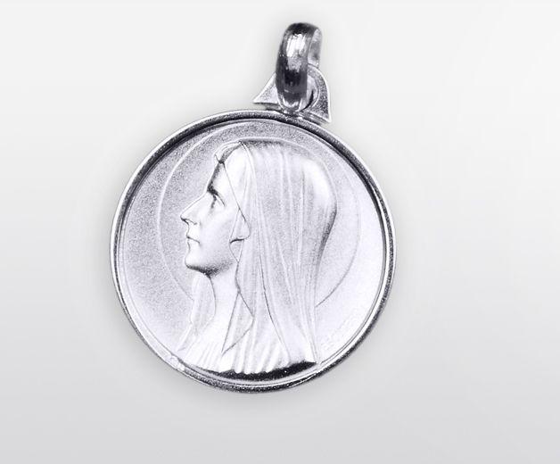 Médaille Vierge Marie argent
