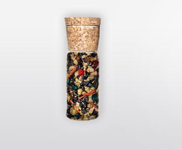 Flacon encens: Arabique dark / Benjoin foncé - 100% grains naturels