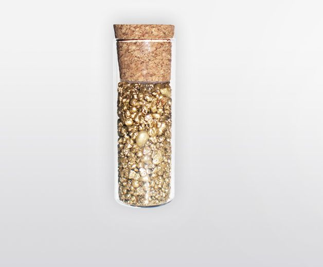 Flacon encens: Gold / Réussite - 100% grains naturels