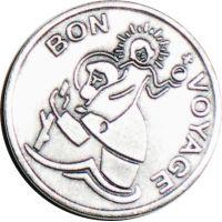 "Aimant ""Bon Voyage"" Saint Christophe"