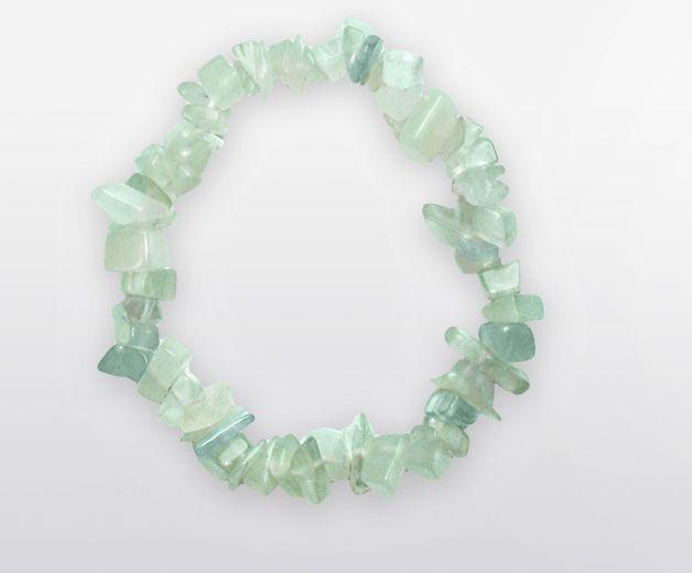 Bracelet en Serpentine vert opal - Pour se donner de l'énergie
