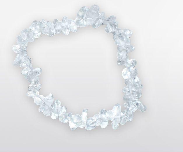 Bracelet Cristal de roche / Pierre la plus sacrée (tout usage)