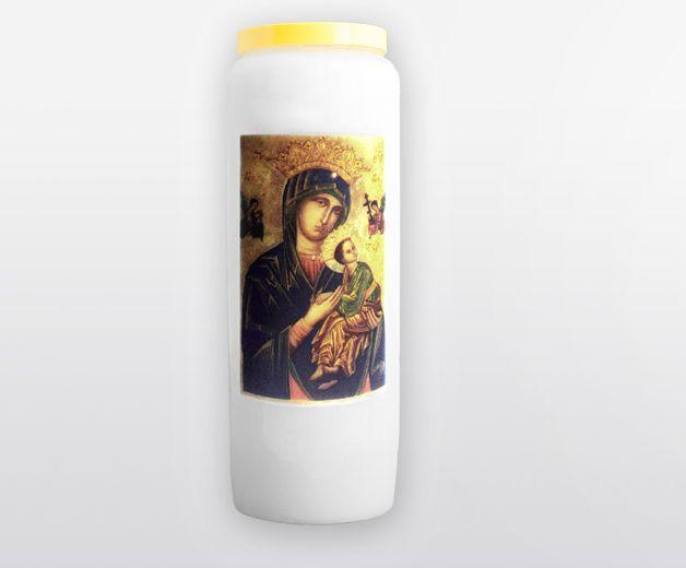 Bougie neuvaine à Notre-Dame du Perpétuel Secours