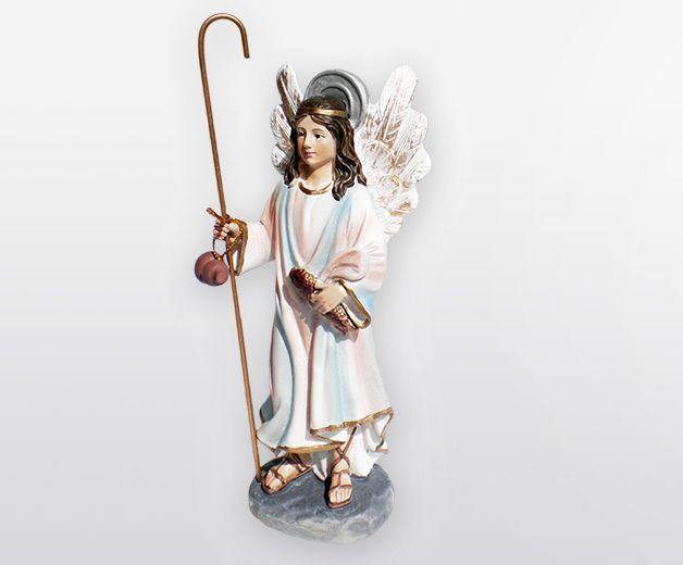 Statue Archange Raphael 12cm
