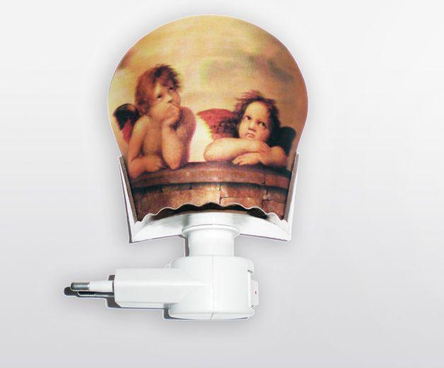 Lampe / Veilleuse - Ange gardien - 220V standard