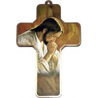 Une croix chrétienne à suspendre bien en vue