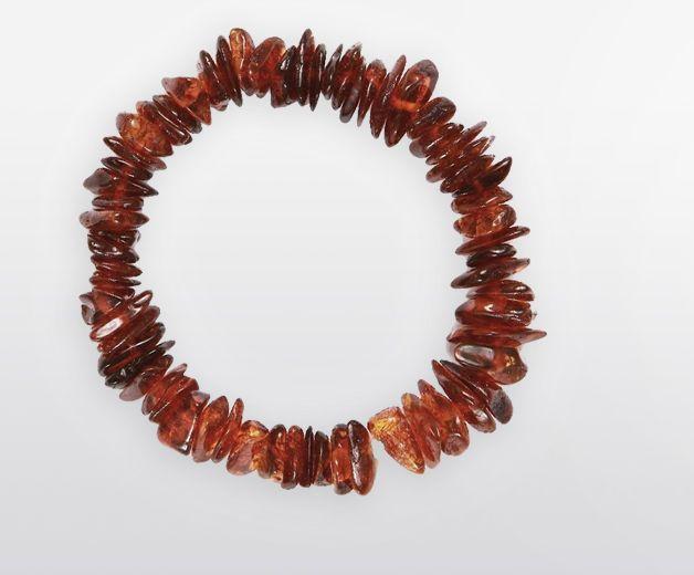 Bracelet Ambre / Résine fossile (circulation d'énergie)