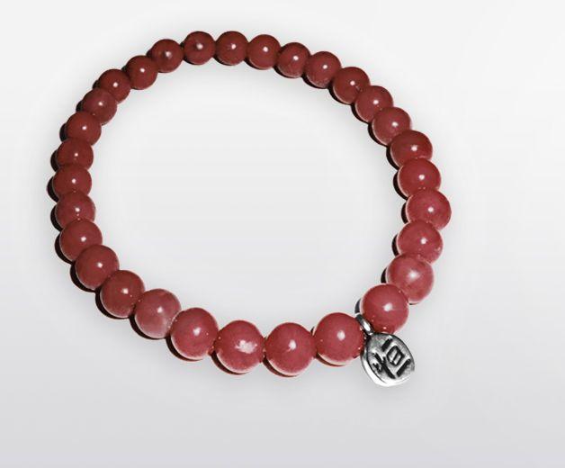 Bracelet perle de Cornaline - Pierre du bien-être