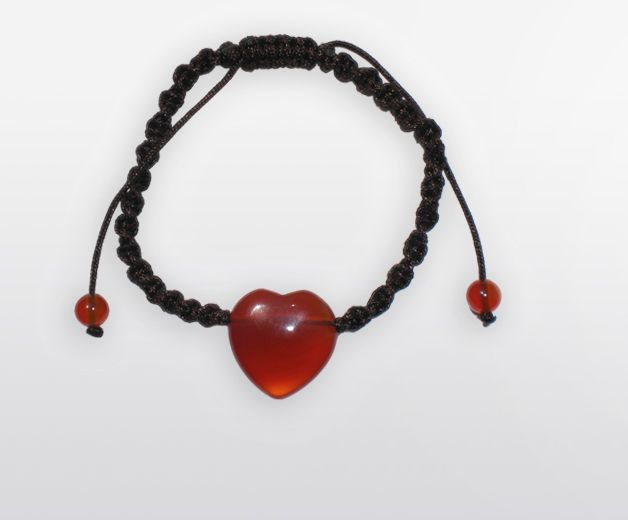 Bracelet pierre Cornaline (harmonie, concentration)