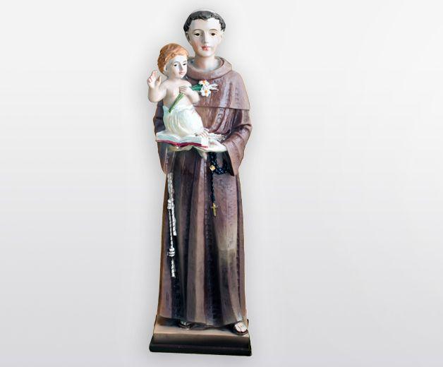 Statue Saint Antoine de Padoue 20cm