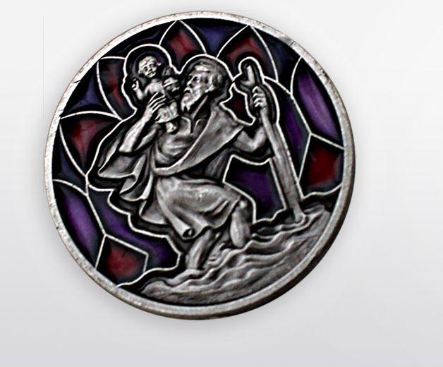 Saint Christophe des voyageurs magnétique 3cm