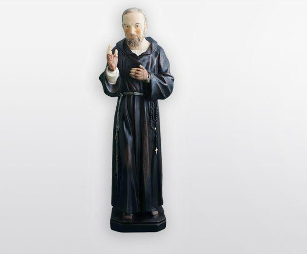 Statue Saint Padre Pio 21cm