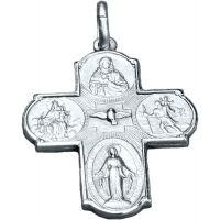Pendentif Notre Dame du Mont Carmel argent 22mm