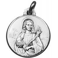 Médaille Sainte Lucie de Syracuse argent 10mm