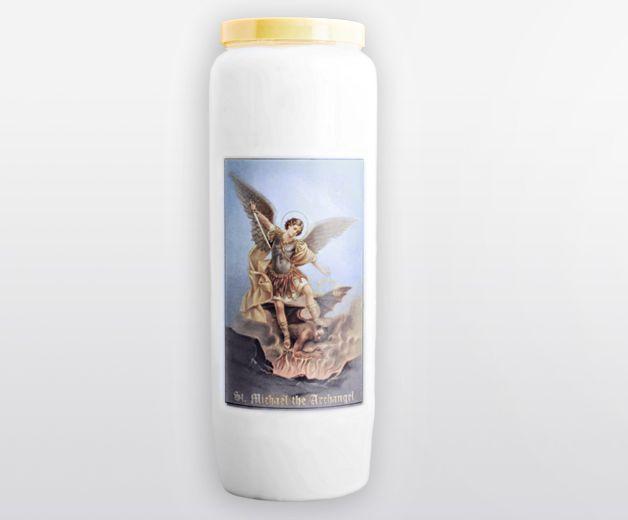 Bougie neuvaine Saint Michel l'Archange