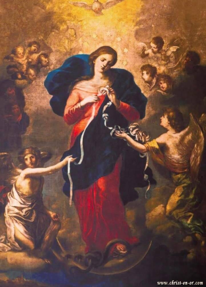 Top Bougie neuvaine à Marie qui défait les noeuds - CHRIST-EN-OR FL76